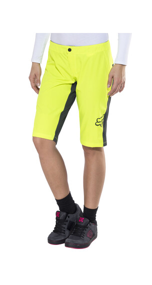 Fox Lynx Shorts Women flo yellow